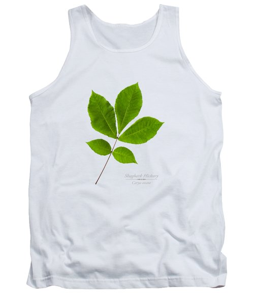 Tank Top featuring the photograph Shagbark Hickory by Christina Rollo