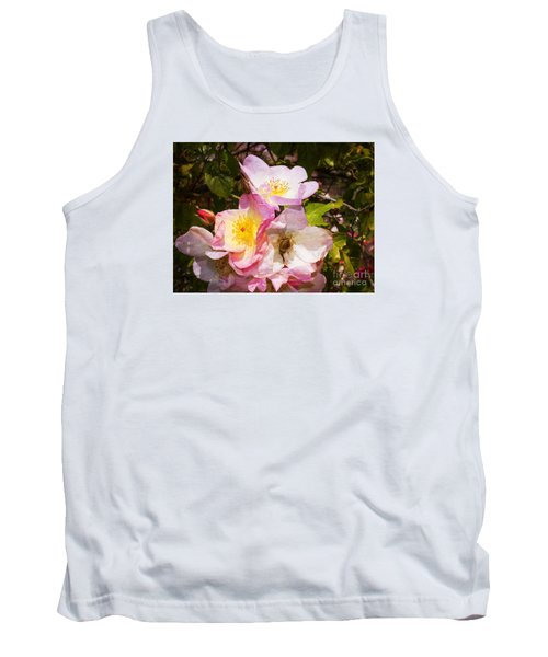 Shakespeares Summer Roses Tank Top