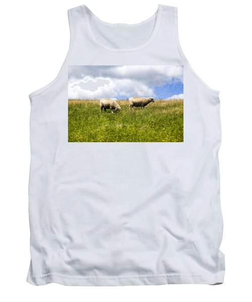 Sheep In New Zealand Tank Top