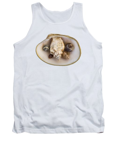 Shells Within A Sea Shell Tank Top
