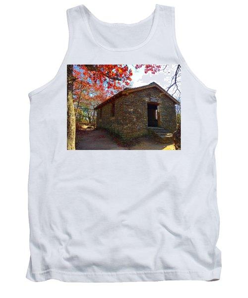 Blood Mountain Shelter Tank Top