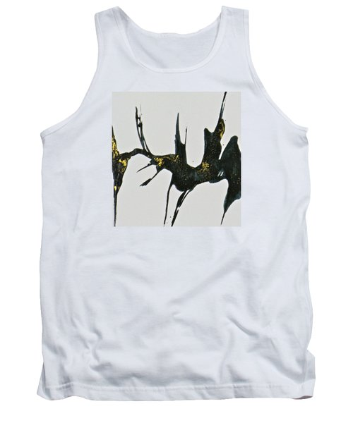 Tank Top featuring the painting Shift by Mary Sullivan