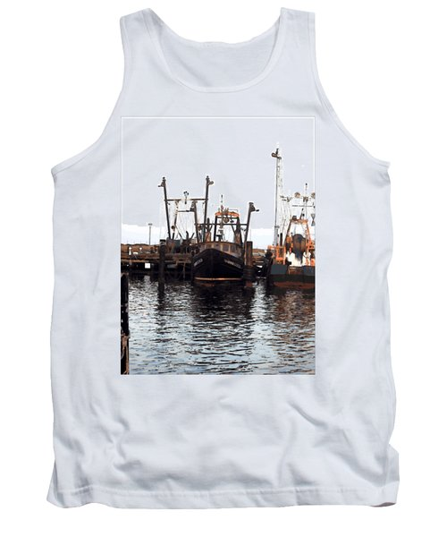 Tank Top featuring the digital art Shinnecock Painting by  Newwwman