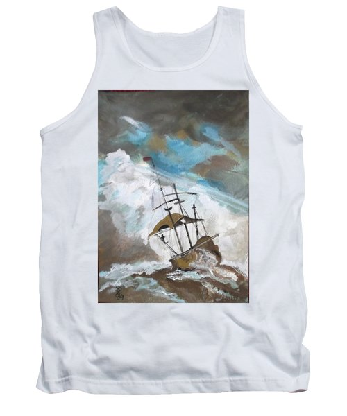 Ship In Need Tank Top by Carole Robins