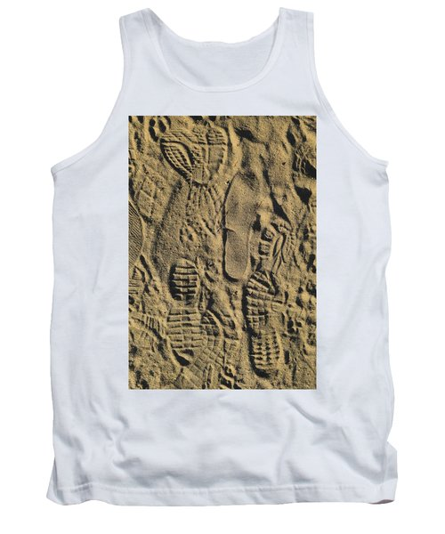 Shoe Prints II Tank Top