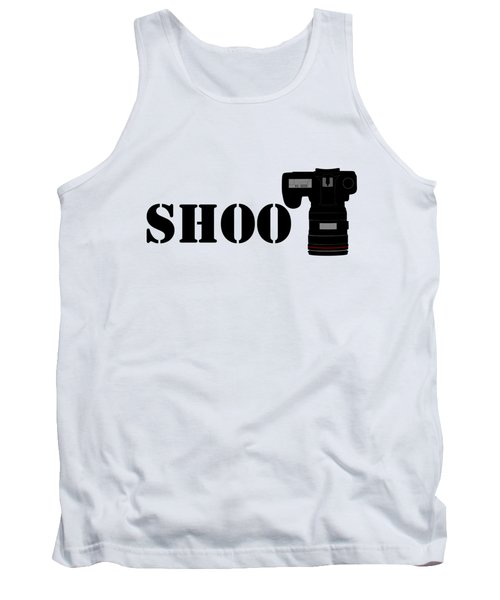 Shoot Tank Top by Roger Lighterness