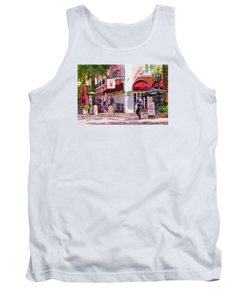 Tank Top featuring the painting Shop Til You Drop  by Judy Kay