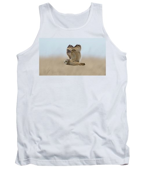 Short-eared Owl Hunting Tank Top