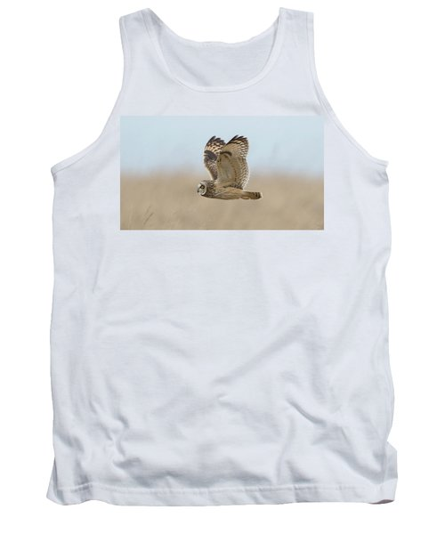 Short-eared Owl Hunting Tank Top