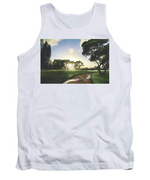 Tank Top featuring the photograph Show Me The Way by Laurie Search