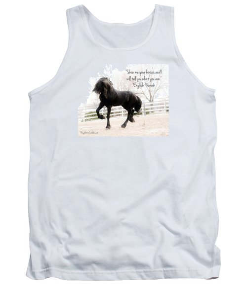 Show Me Your Horse Tank Top