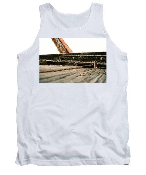 Side Of Rail #photography #trains Tank Top