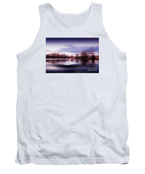Silence Lake  Tank Top by Franziskus Pfleghart