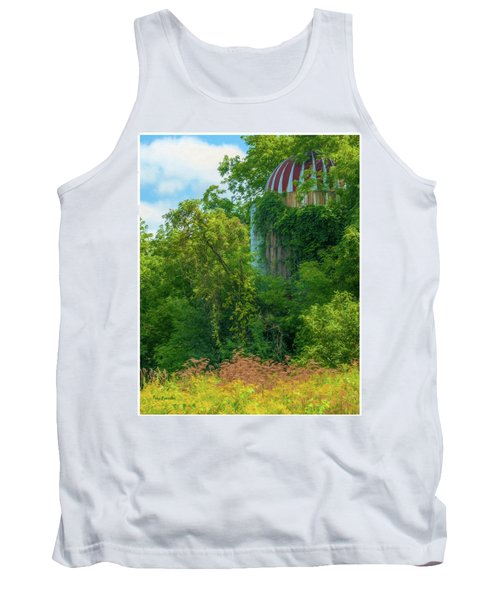 Silent Silo On Nottleson Road Tank Top by Trey Foerster