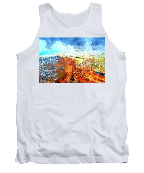 Silex Hot Springs Abstract Tank Top