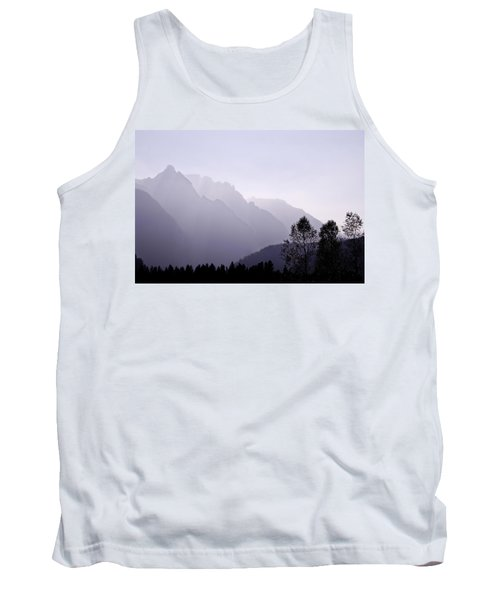 Silhouette Austria Europe Tank Top by Sabine Jacobs