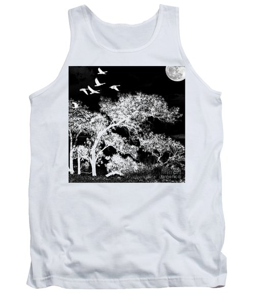 Silver Nights Tank Top