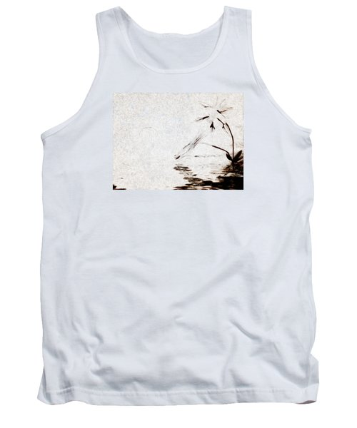 Simple Reflections Tank Top by Mario Carini