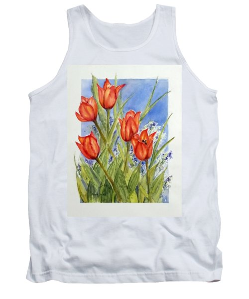 Simply Tulips Tank Top