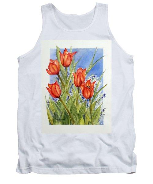 Simply Tulips Tank Top