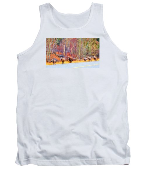 Single File For Safety Tank Top