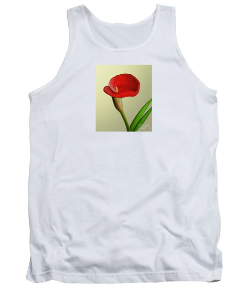 Tank Top featuring the painting Single Pose by Rand Herron
