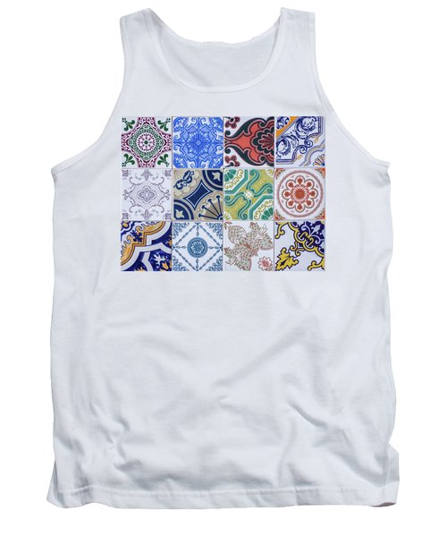 Tank Top featuring the photograph Sintra Tiles by Carlos Caetano