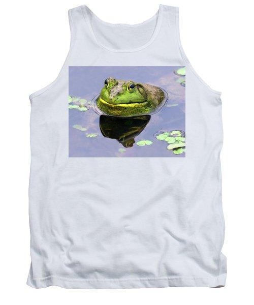 Sir Bull Frog Tank Top