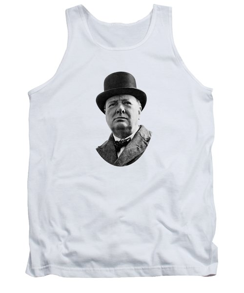 Sir Winston Churchill Tank Top by War Is Hell Store