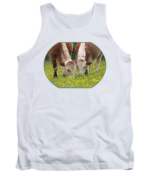 Sisters - Brown Cows Tank Top