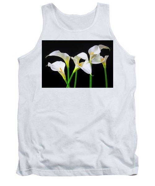Six Calla Lilies Tank Top
