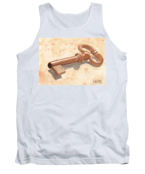 Skeleton Key Tank Top
