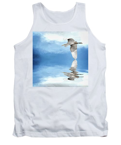 Skimming Tank Top by Cyndy Doty