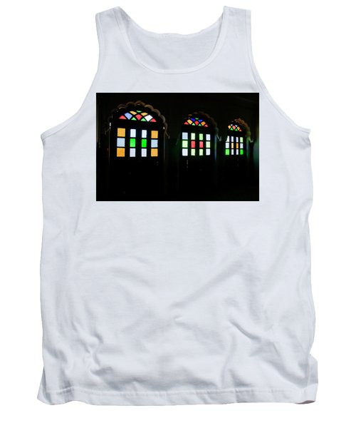 Skn 1251 Glass Hues Tank Top