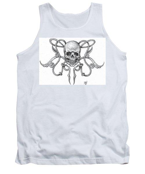 Skull Design Tank Top