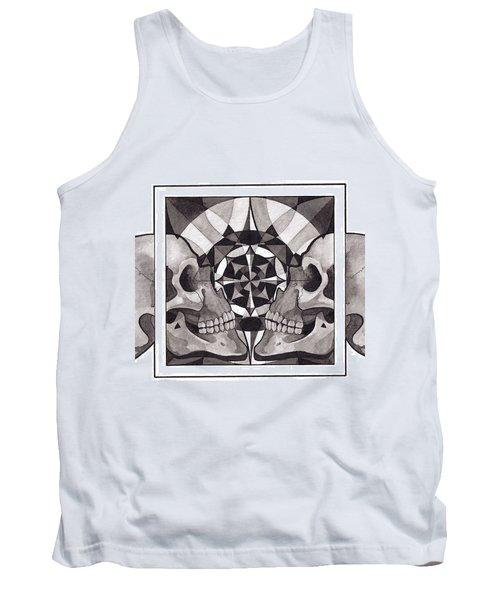 Skull Mandala Series Nr 1 Tank Top