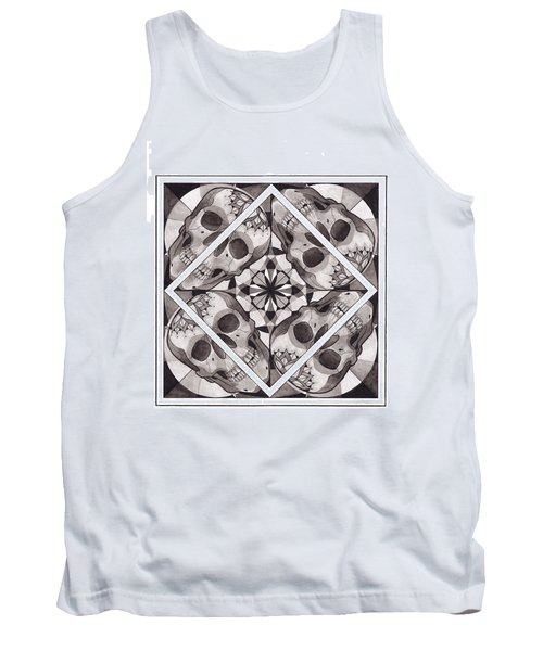 Skull Mandala Series Number Two Tank Top