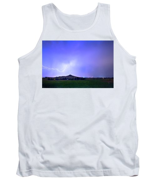 Tank Top featuring the photograph Sky Monster Above Haystack Mountain by James BO Insogna