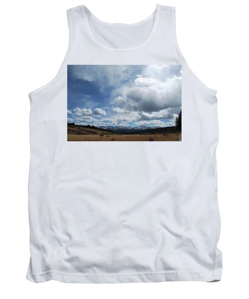 Sky Of Shrine Ridge Trail Tank Top by Amee Cave