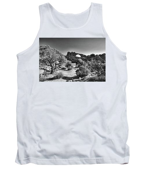 Skyline Arch In Arches National Park Tank Top