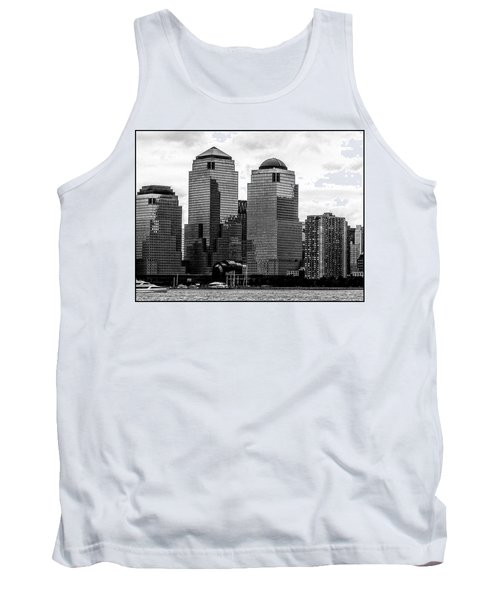 Skyline Nyc River View  Tank Top