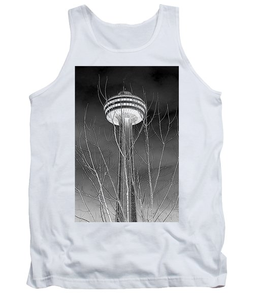 Tank Top featuring the photograph Skylon Tower by Valentino Visentini