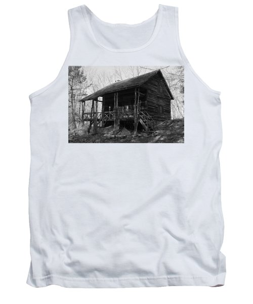 Tank Top featuring the photograph Slabsides In Spring by Jeff Severson