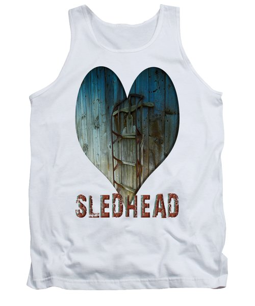 Sledhead Tank Top by Mim White