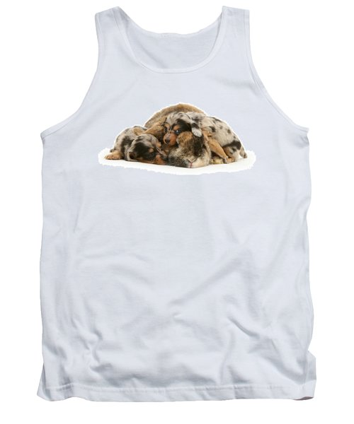 Sleep In Camouflage Tank Top
