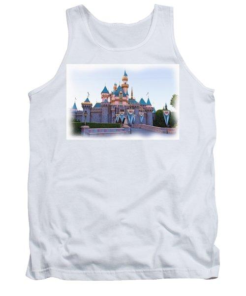 Sleeping Beauty's Castle Disneyland Tank Top