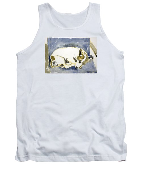 Sleeping Dog Tank Top