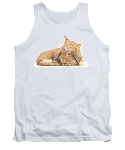 Sleeping On Bun Tank Top