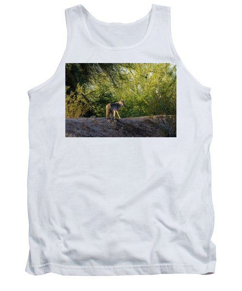 Sleepy Coyote Tank Top