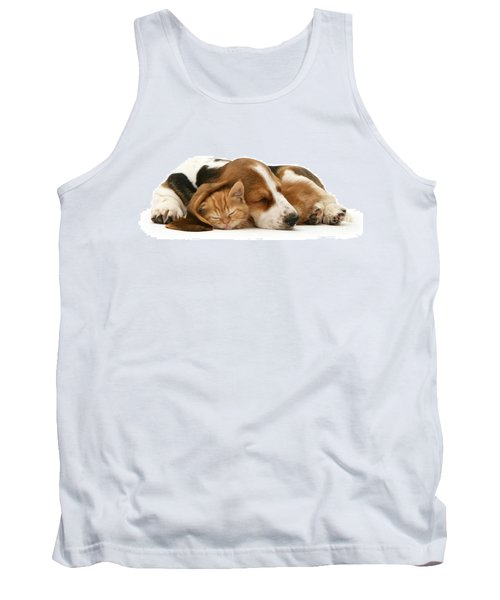Sleepy Ginger Pals Tank Top
